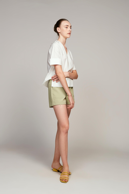 Stitch Detail Shorts