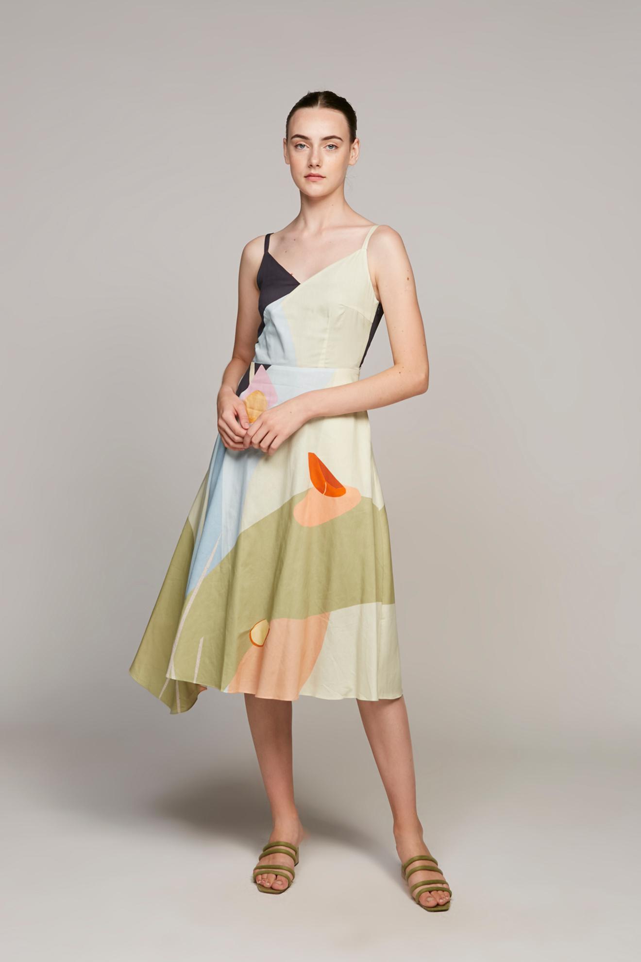 Morning Cotton Midi Dress