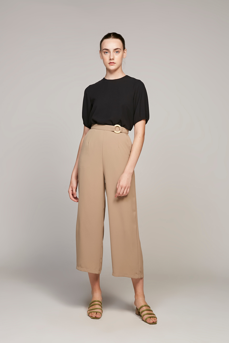Loop Buckle Pants