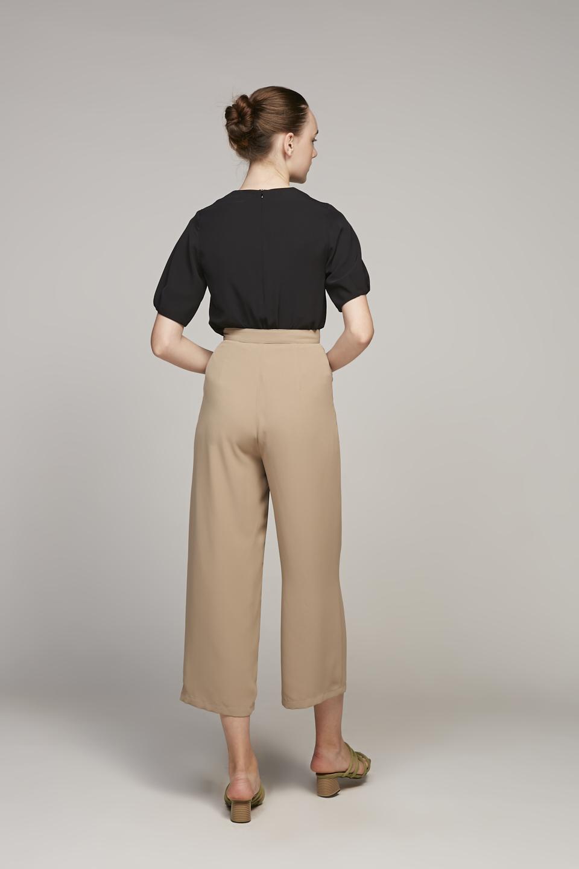 Loop Buckle Pants