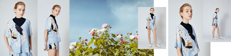 Wildflower Kaftan Top