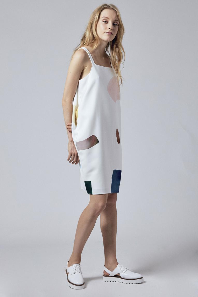 Birthstone Drape Dress