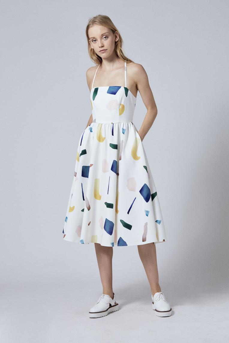 Birthstone Midi Dress
