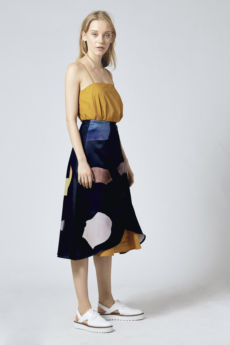 Birthstone Overlap Skirt