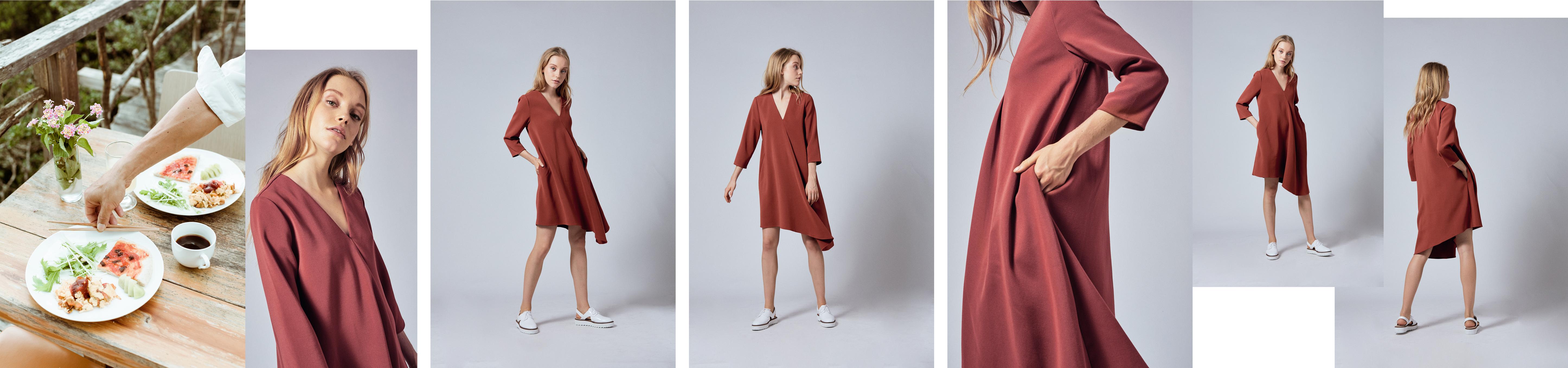 Asymmetrical Shift Dress