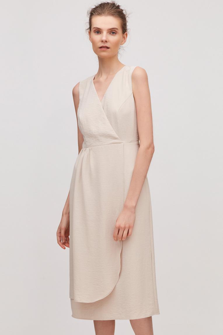 Midi Overlap Dress