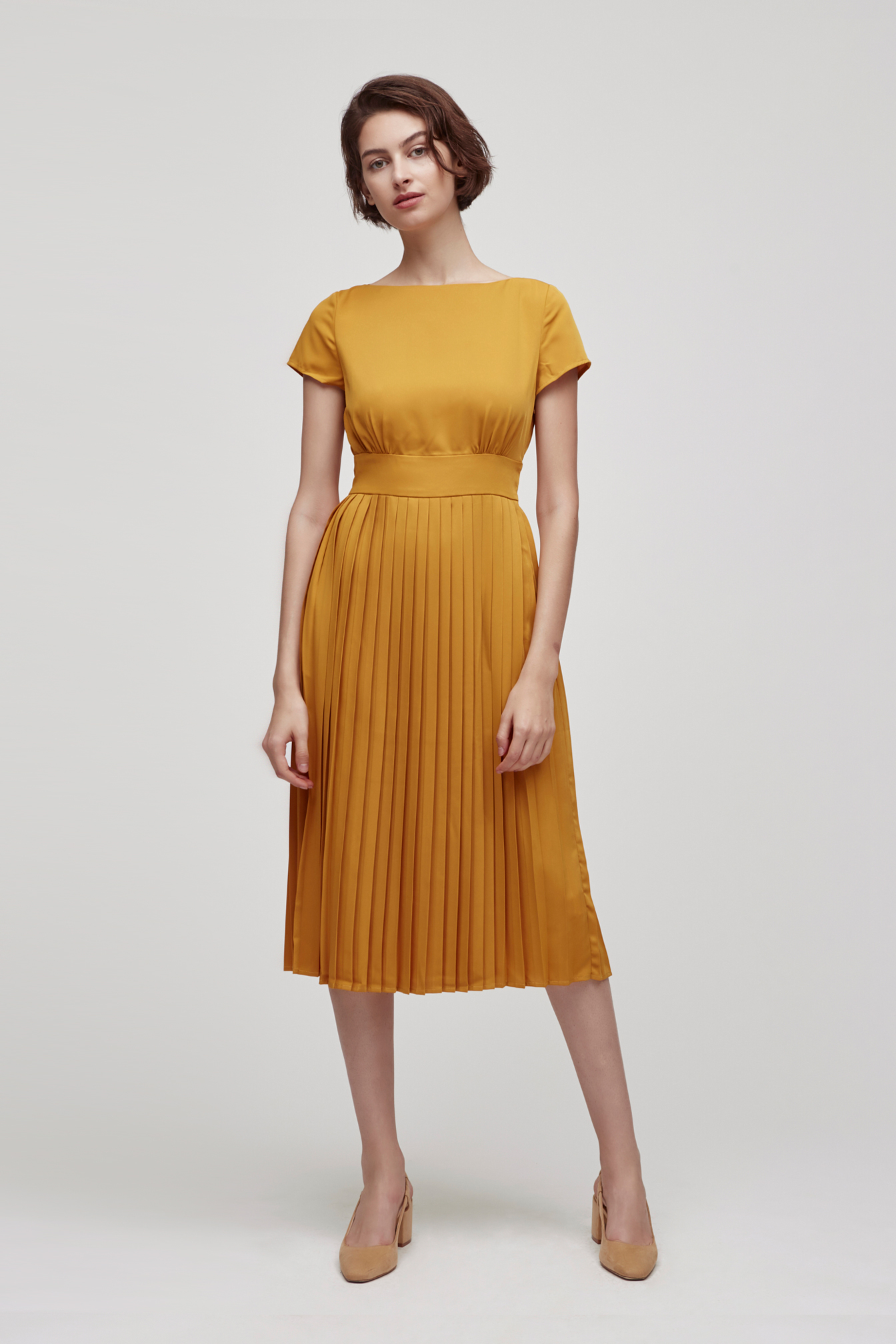 Boat Neck Dress