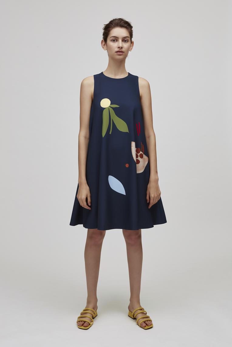Harvest Drape Dress