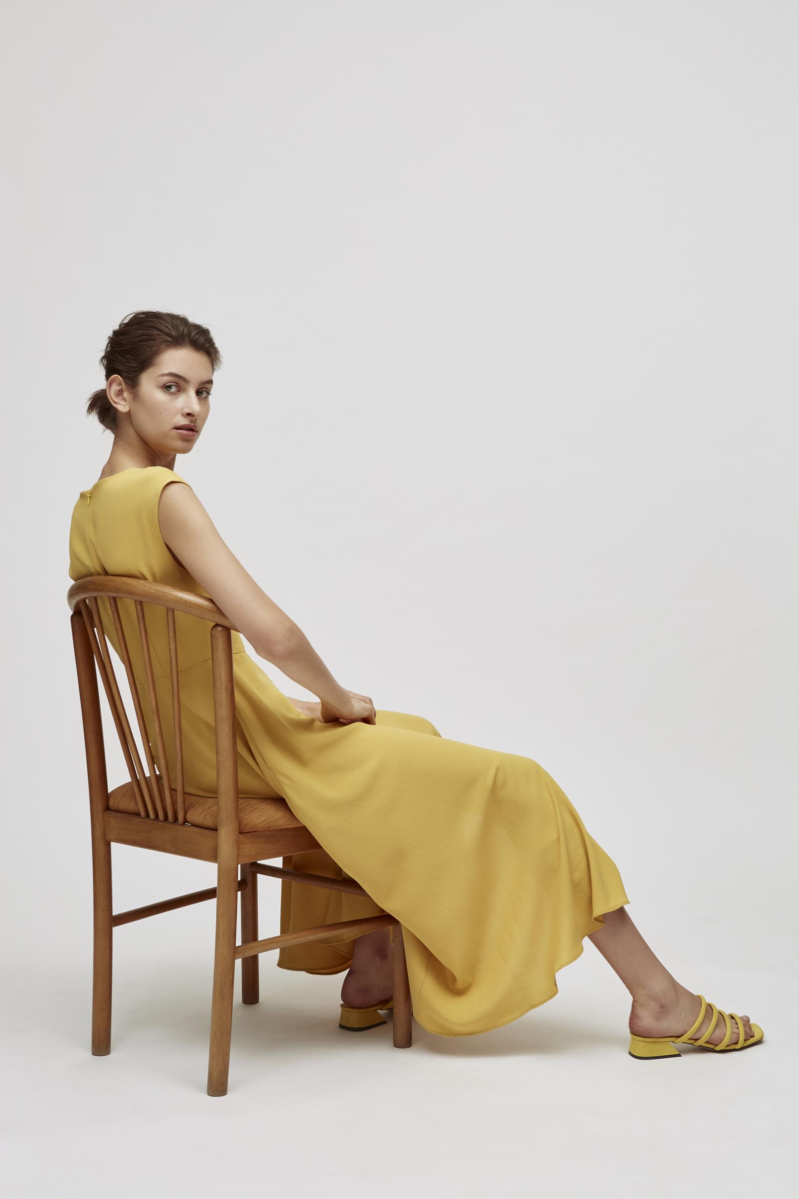 Button-Down Maxi Dress