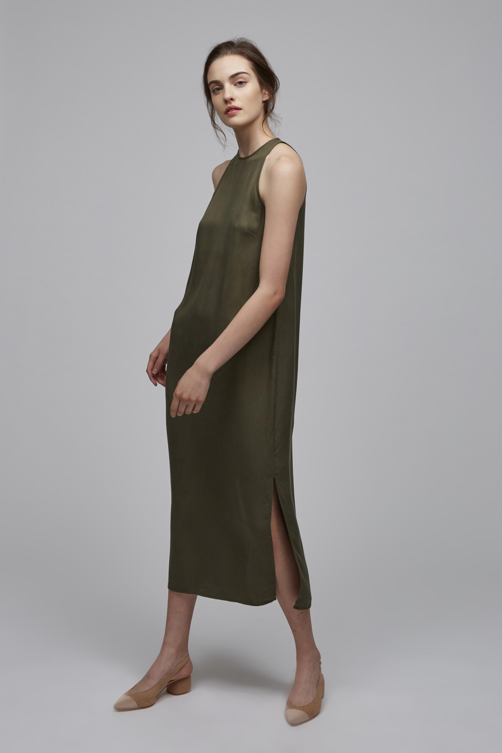 Tencel Maxi Dress