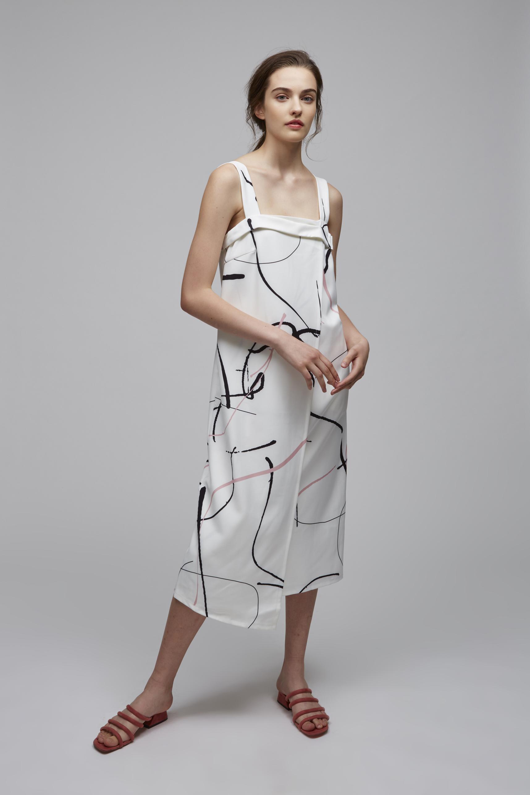 Canvas Shift Dress