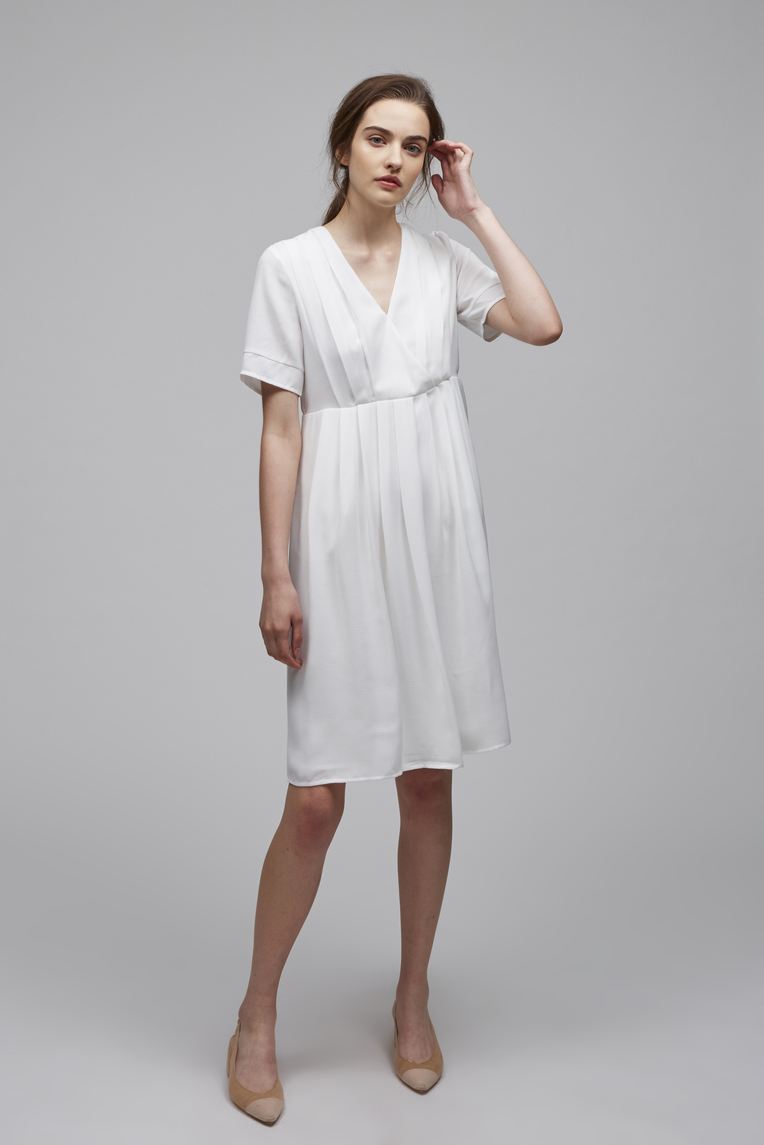 Pleated Picnic Dress