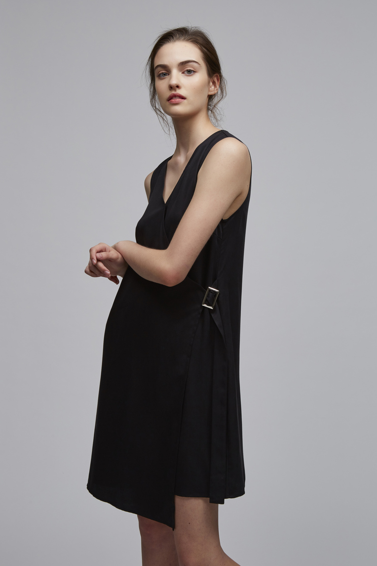 Tencel Buckle Dress