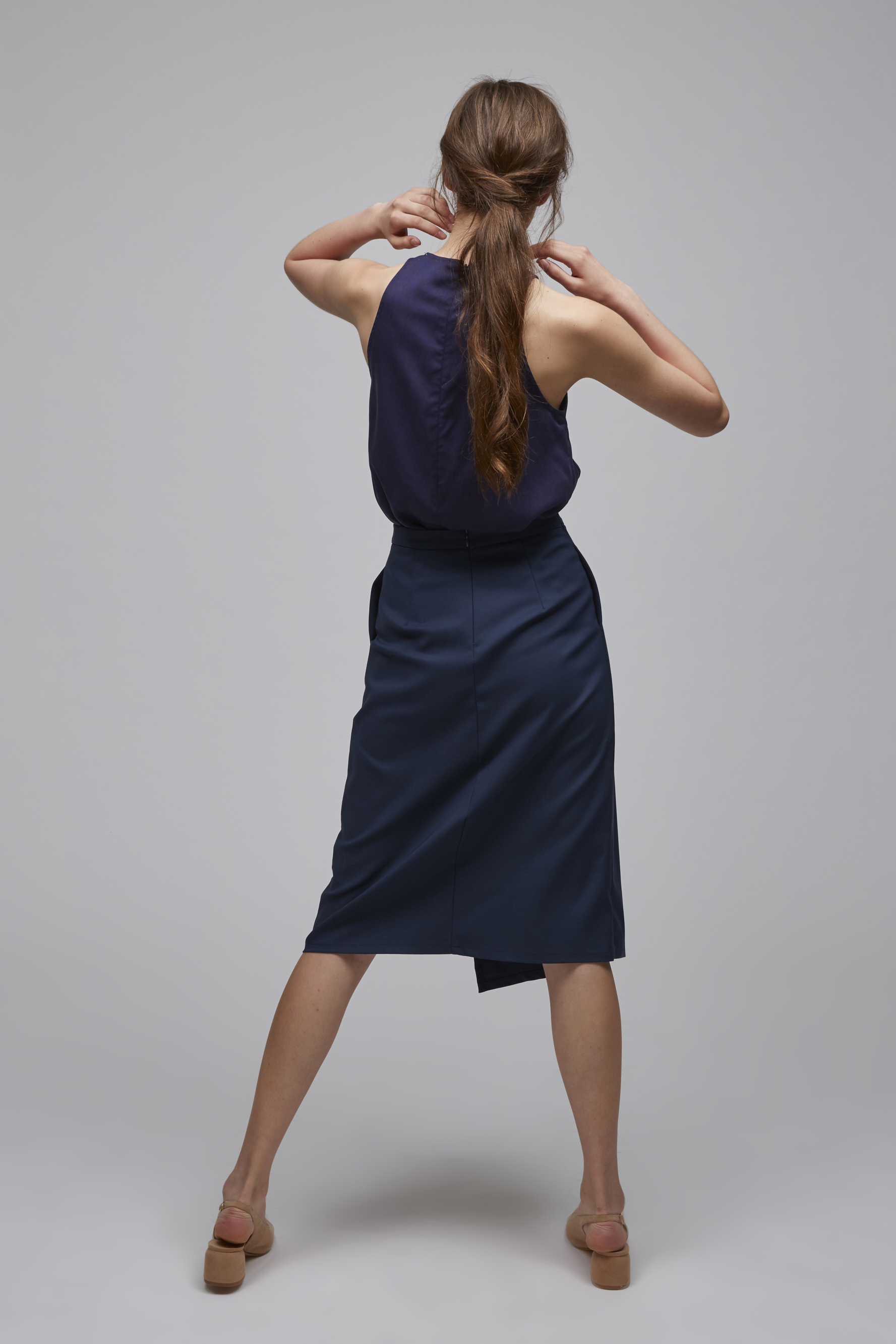 Canvas Overlap Skirt