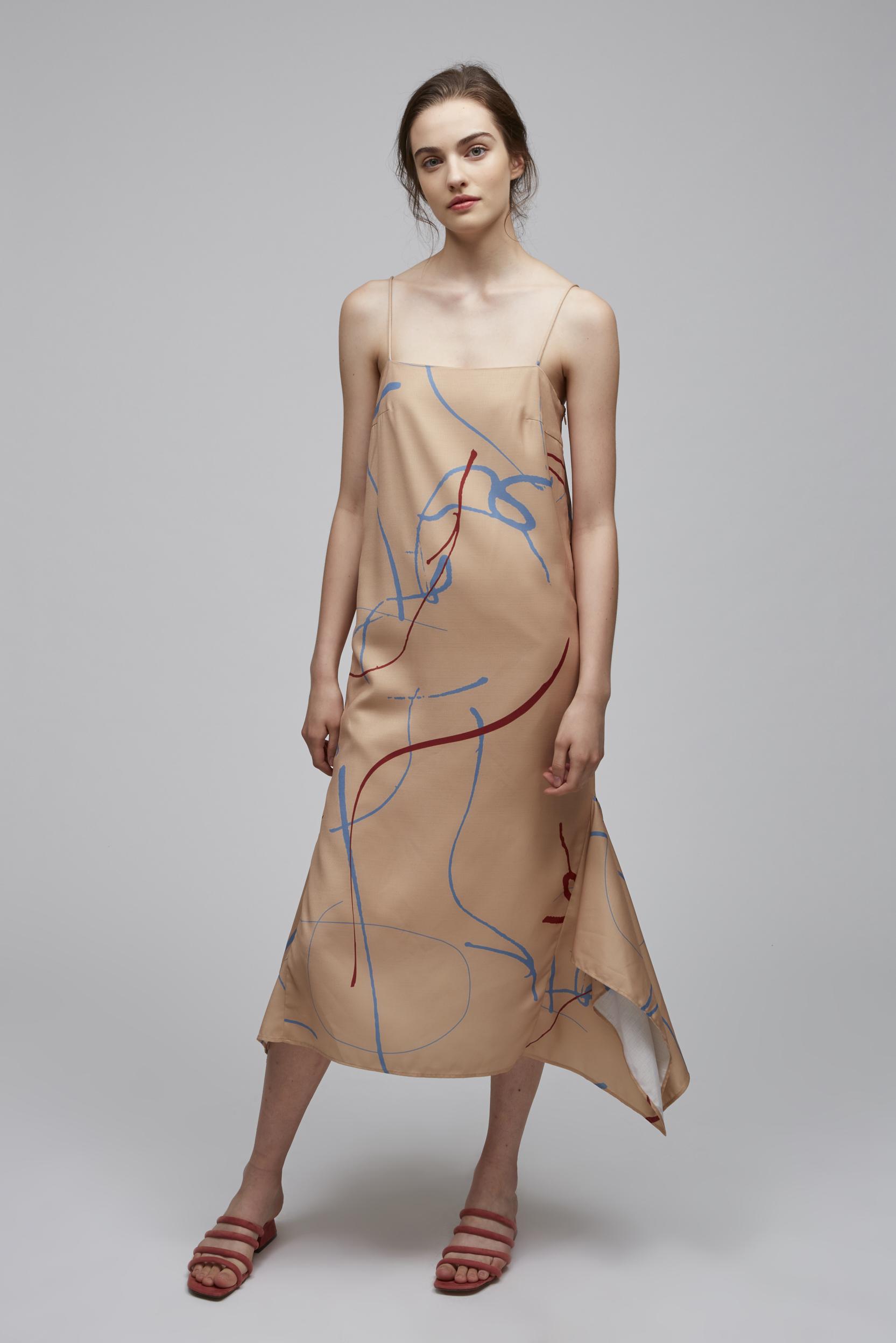 Canvas Handkerchief Dress