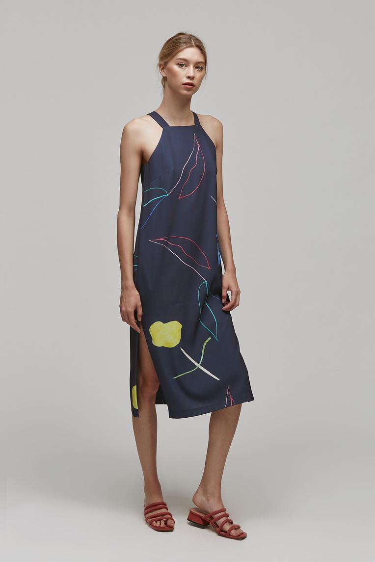 Sketch Slip Dress