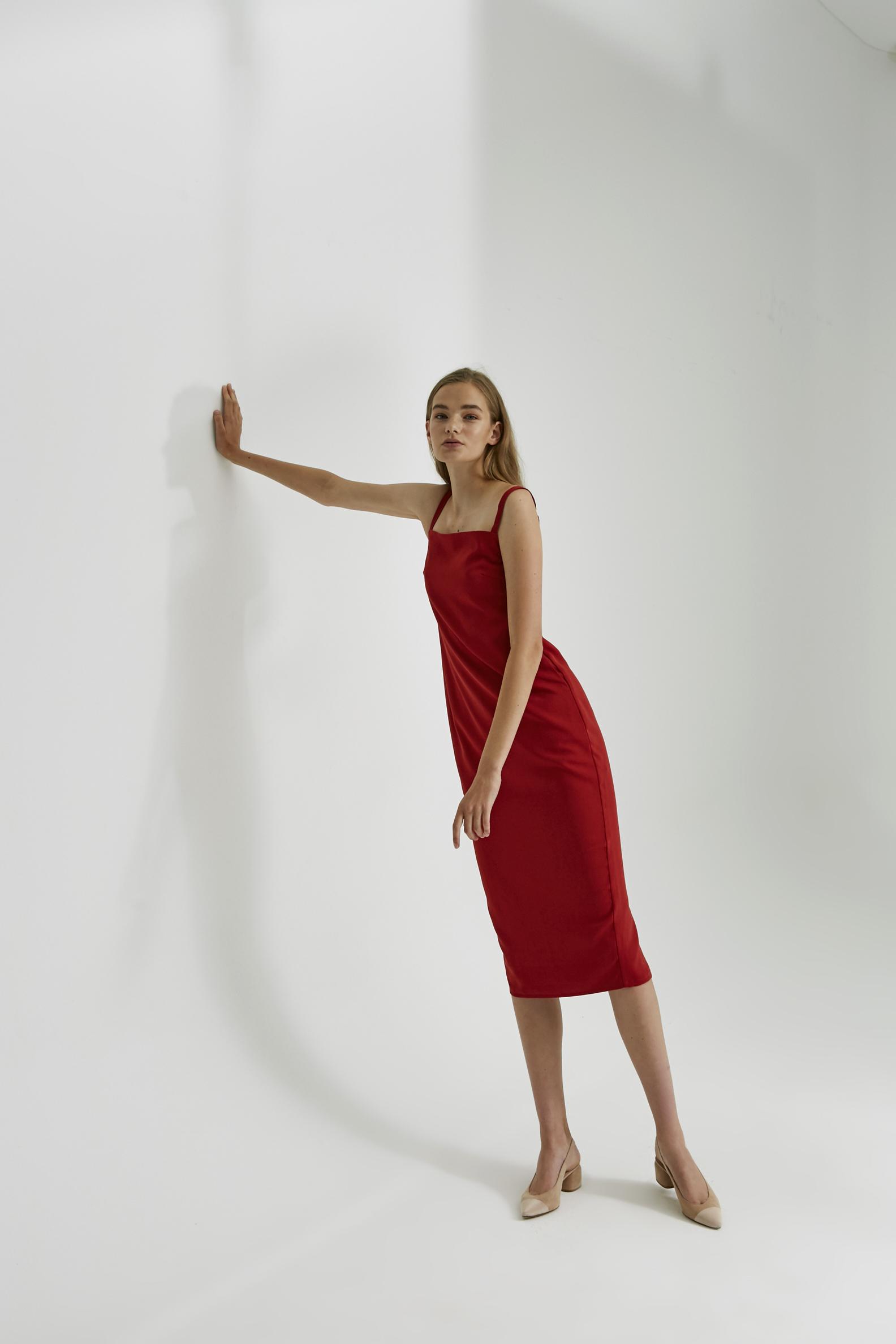 Midi Pencil Dress