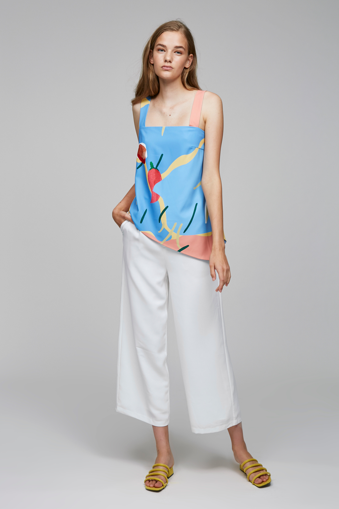 Relaxed High-Waisted Pants