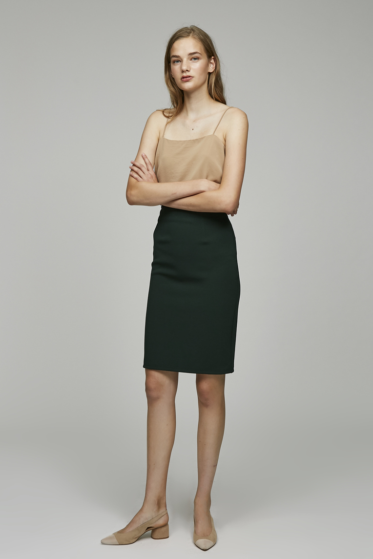 Soup Fitted Skirt
