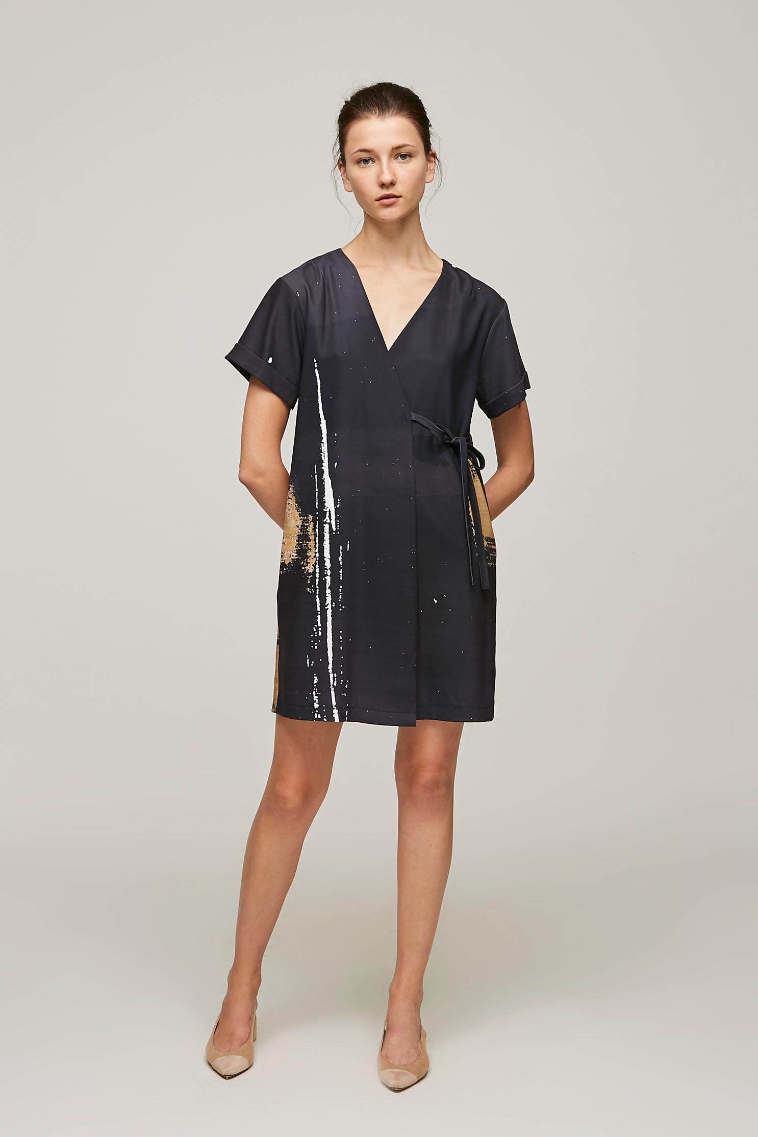Dune Wrap Dress