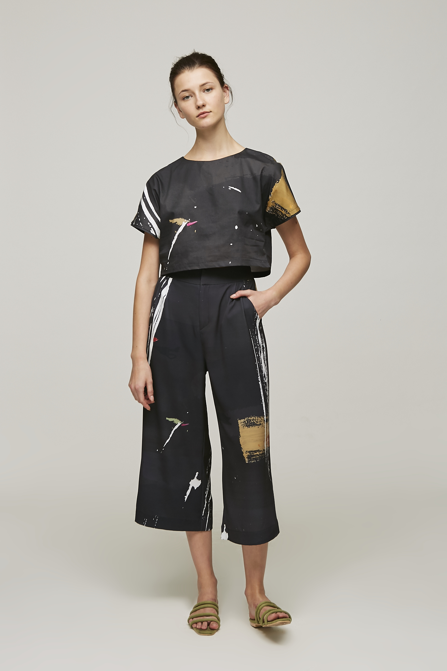 Dune Cropped Top