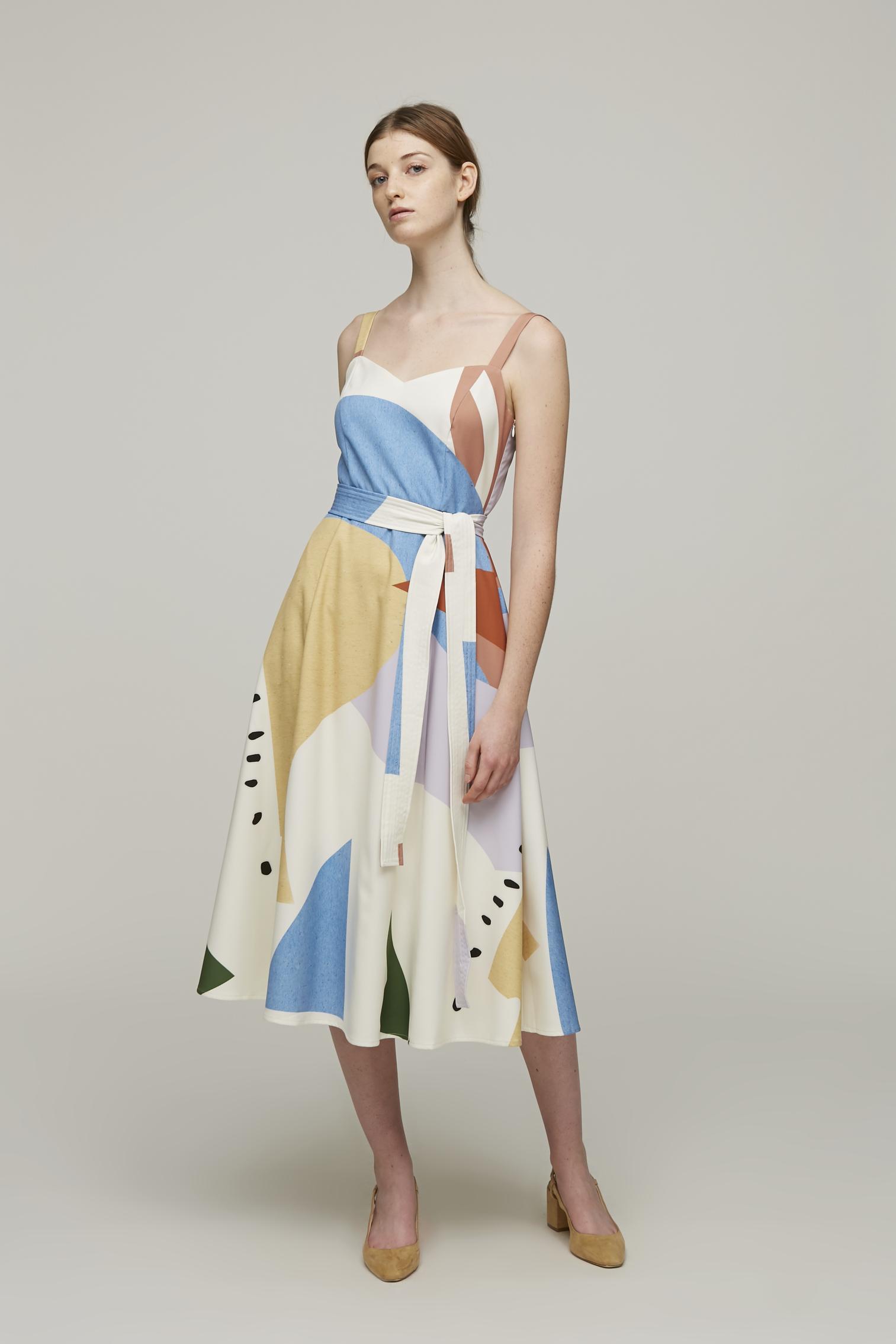 Roadmap Midi Dress