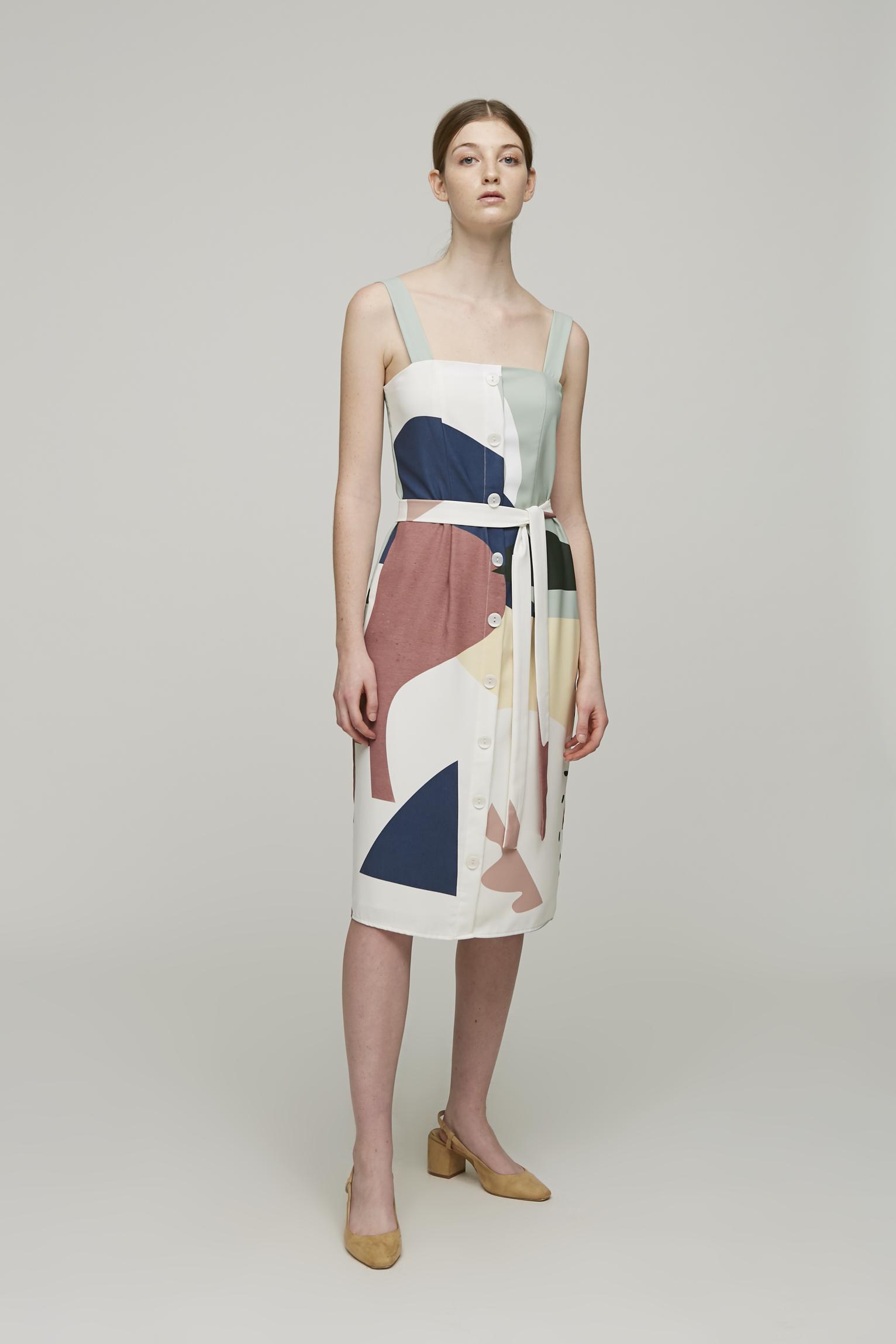 Roadmap Straight-Cut Dress