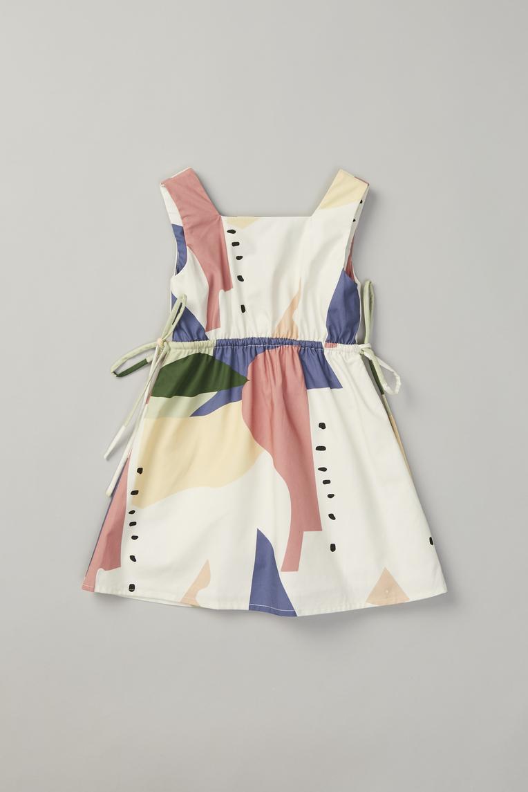 Roadmap Square-Neck Dress