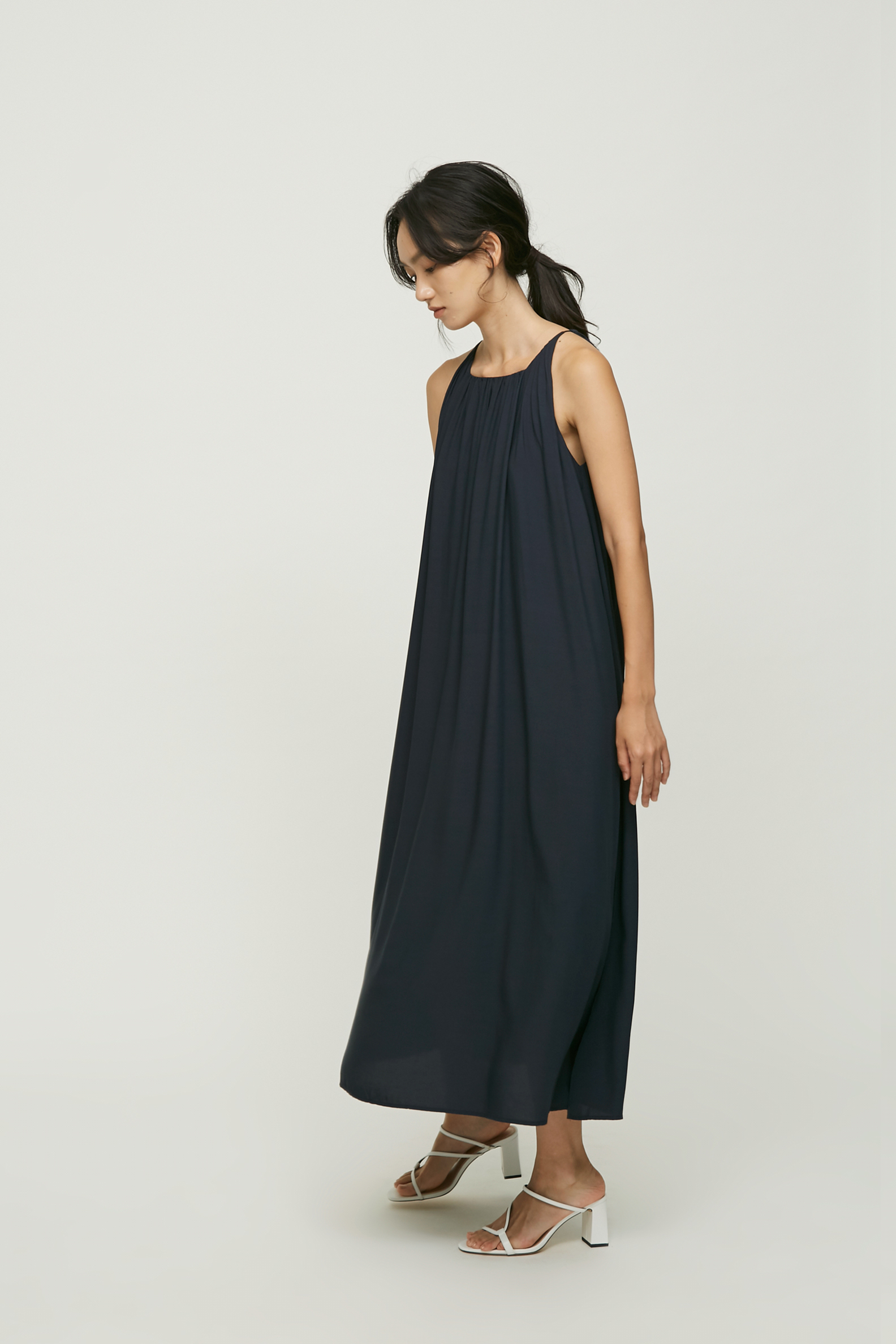 Square-Neck Maxi Dress