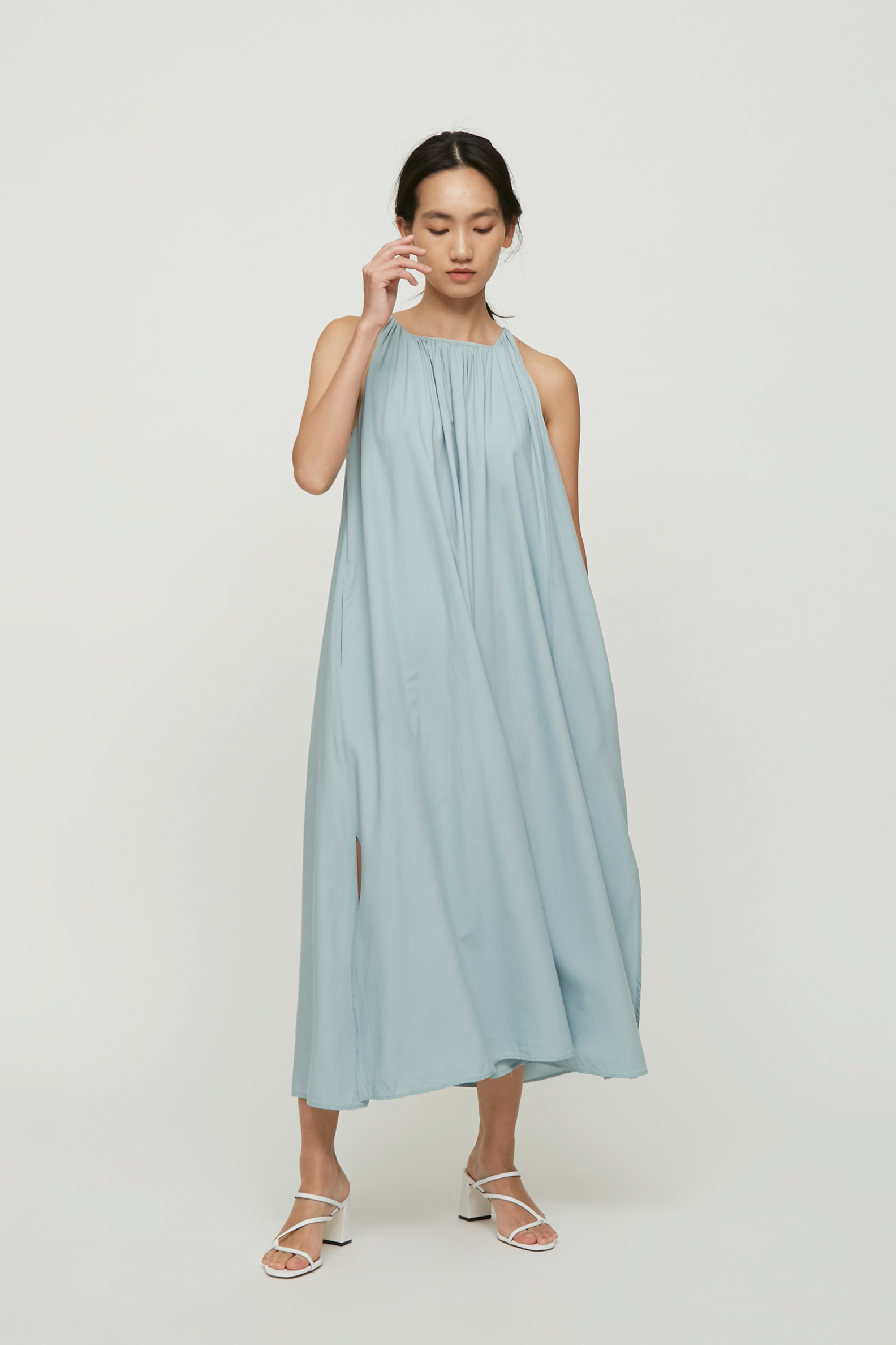 d369011c1c Square-Neck Maxi Dress - Our Second Nature