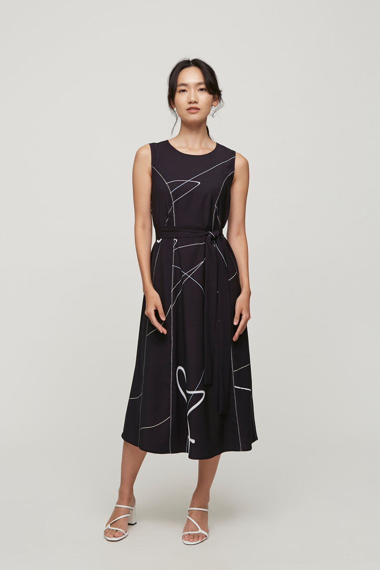 Trail Midi Dress
