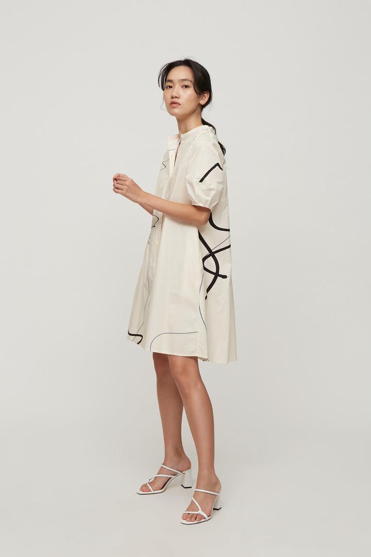 Trail Cotton Boxy Dress