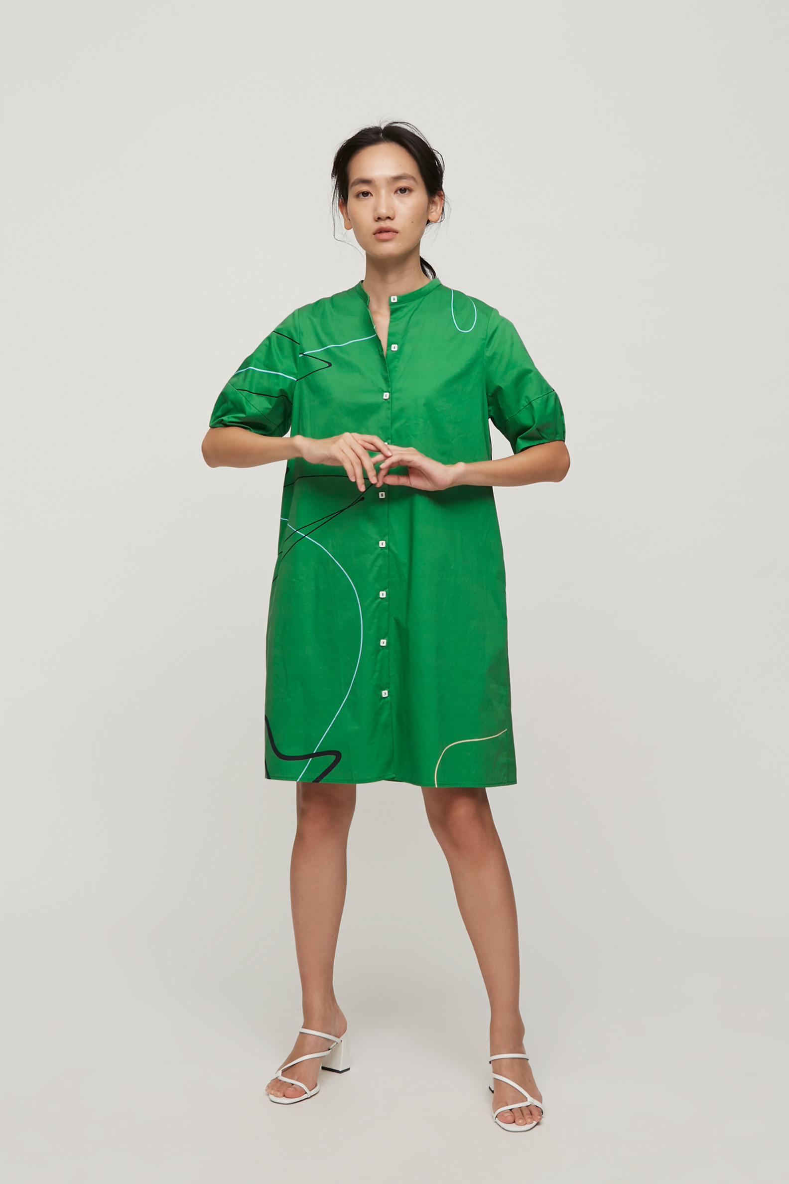 Trail Cotton Boxy Dress