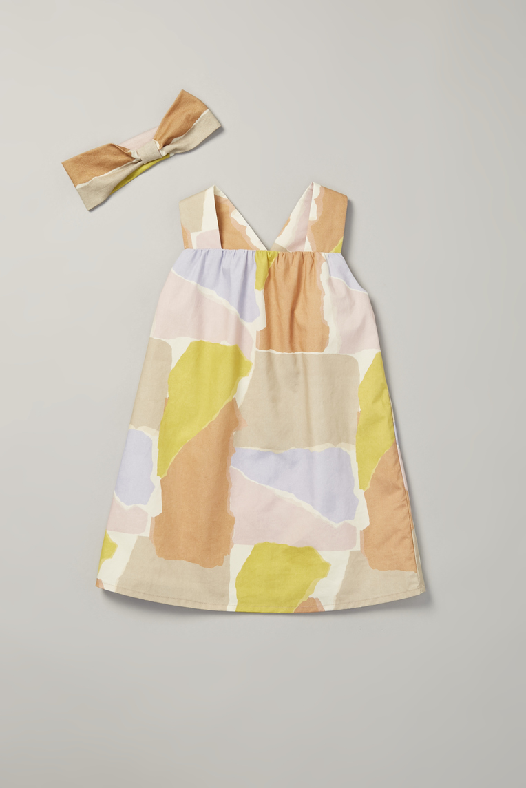 Harbour V-Back Tent Dress