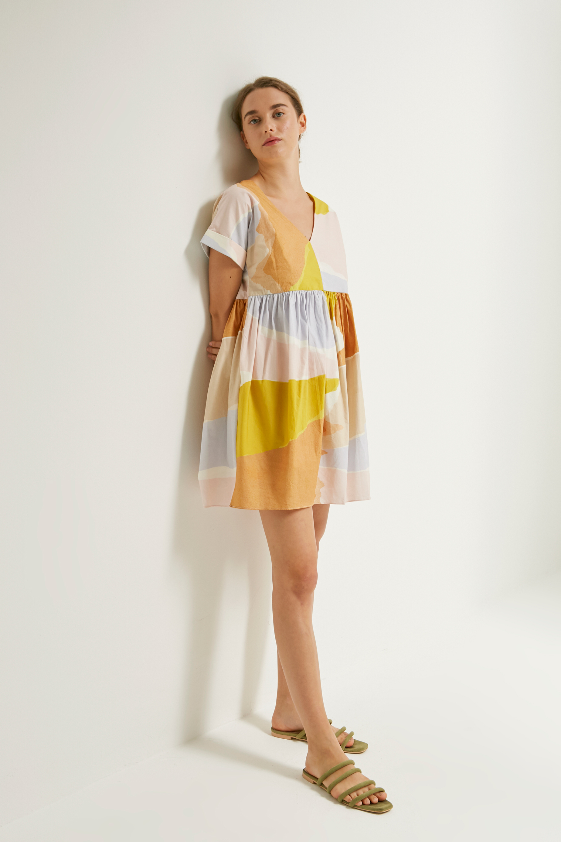 Harbour Cotton Shift Dress
