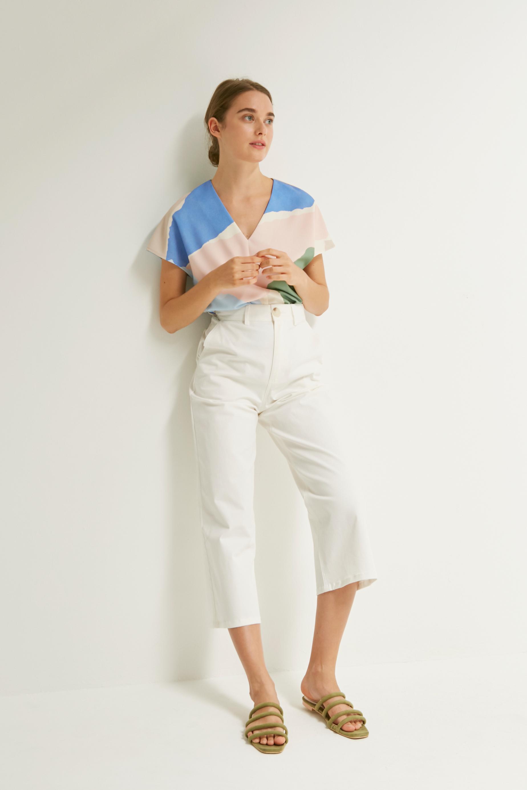 Cotton Twill Culottes